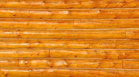 Log Cabin Wall Background