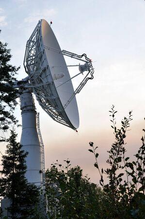 Satellite Communications Dish Reklamní fotografie
