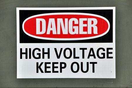 danger: Danger - High Voltage
