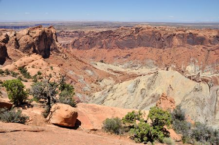 upheaval: Upheaval Dome in Canyonlands National Park