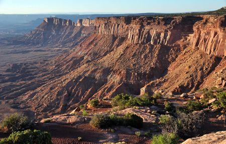 canyonlands: Canyonlands National Park Needle Overlook
