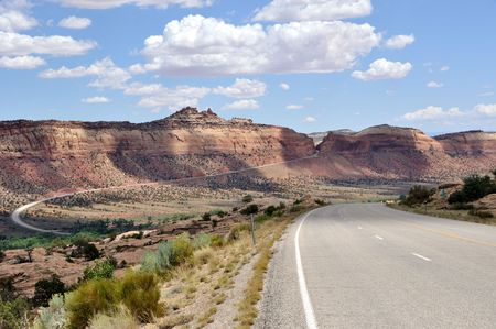 ancients: Trail of Ancients Scenic Byway - Southern Utah Stock Photo
