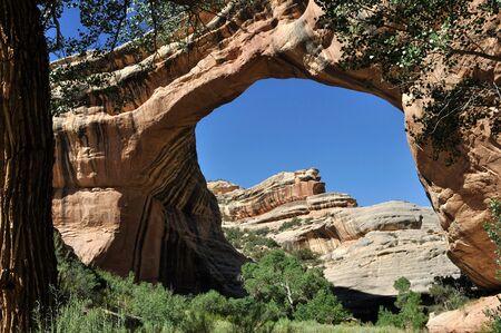 Sipapu Natural Bridge - Southern Utah Stock Photo - 7765705