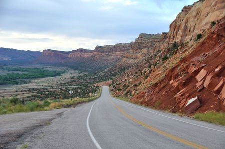 ancients: Trail of the Ancients Scenic Byway - Utah Stock Photo