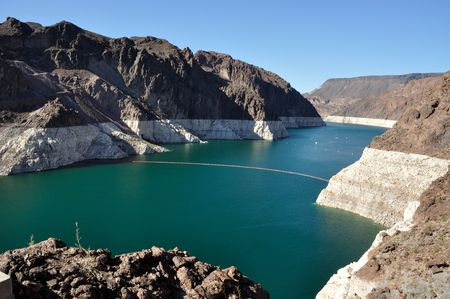 mohave: Lake Mead by Hoover Dam