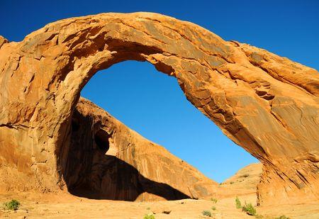 the corona: Corona Arch in Southern Utah Stock Photo