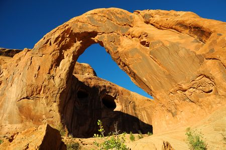 Corona Arch in southern Utah photo