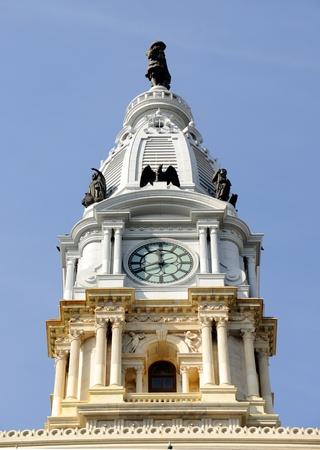 william penn: Philadelphia City Hall Tower
