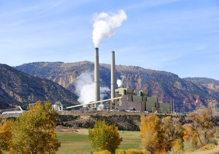 Central Utah Coal-Fired Power Plant photo