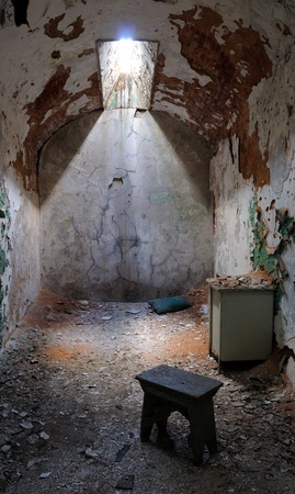 penitentiary: Eastern State Penitentiary Prison Cell