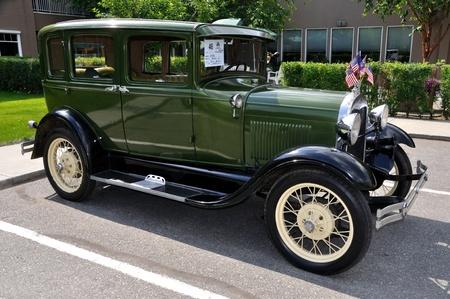 Fairbanks, Alaska, June 19,2010: Midnight Sun Cruise-In Auto Show,1929 Ford Model A