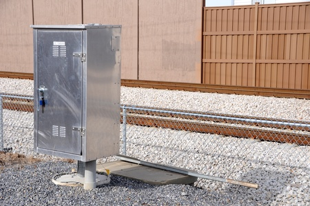 enclosures: Electrical Control Box for Commuter Train Road Crossing Arms and Lights