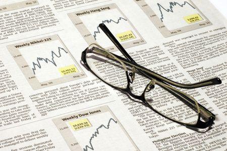 Stock monitoring Stock Photo - 7035121