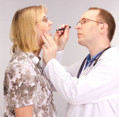 Medical doctor and patient Stock Photo - 14683101