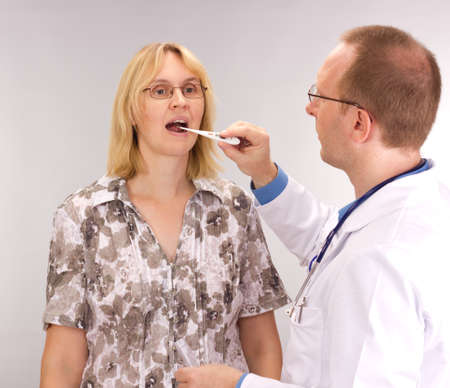 Medical doctor and patient Stock Photo - 14683112
