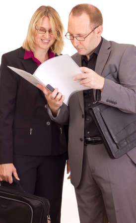Business people Stock Photo - 14669799