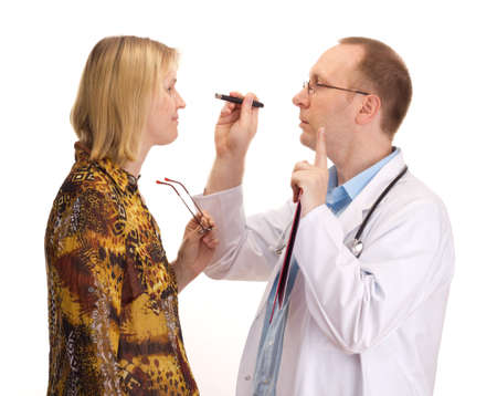 confidentially: Medical doctor and patient
