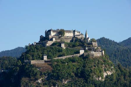 burg: A beautiful castle in the landscape