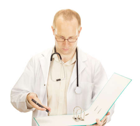 disposer: Medical doctor with no documents about a patient