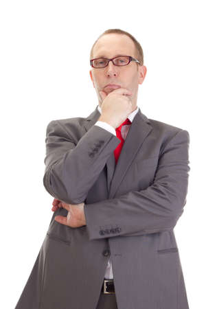 independent financial adviser: Businessman Stock Photo