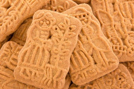 Closeup of some speculoos photo