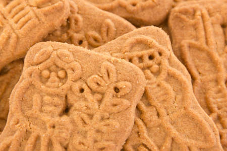 Closeup of some speculoos