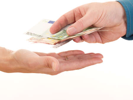boodle: Giving somebody money