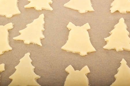 Baking cookies for christmas Stock Photo - 16419504