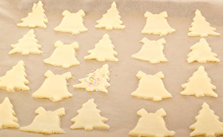 Baking cookies for christmas Stock Photo - 16419496