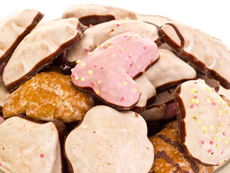 titbits: Some gingerbreads Stock Photo