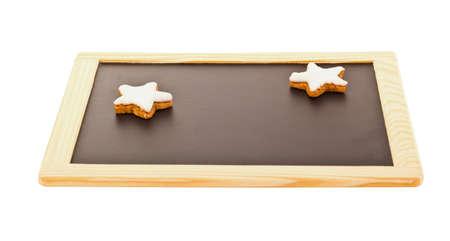 Stars on blackboard Stock Photo - 16419531