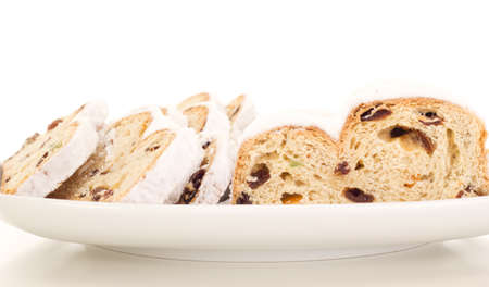 titbits: Stollen for christmas Stock Photo