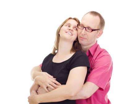 pareja de esposos: Matrimonio Foto de archivo