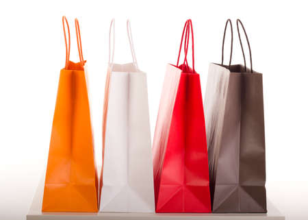 shopping center: Shopping bags