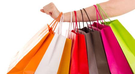 compras compulsivas: Bolsas de la compra