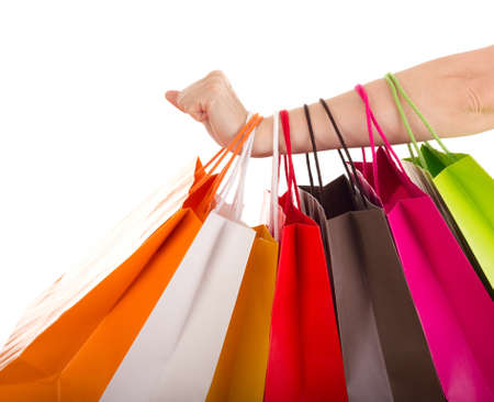 christmas shopping: Shopping bags