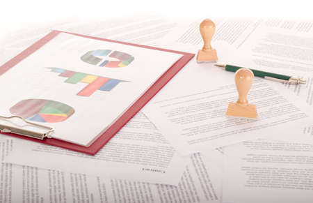 A lot of paperwork Stock Photo - 16575864