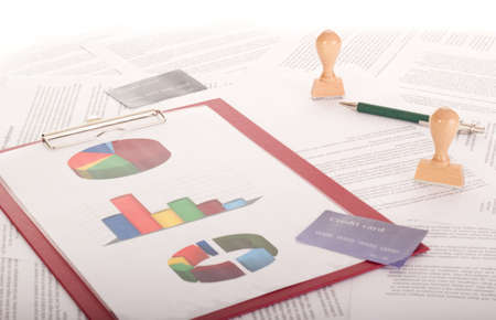 A lot of paperwork Stock Photo - 16575867
