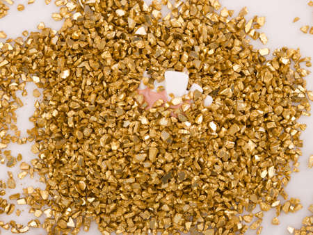 Treasure of gold Stock Photo - 16613693