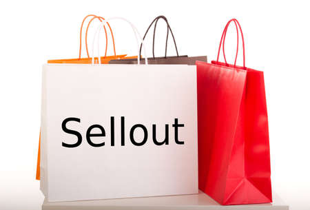 sellout: Shopping bags