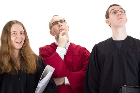 Conducting a lawsuit Stock Photo - 17278349