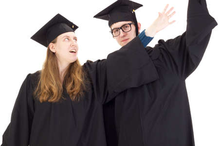 collegian: Graduates Stock Photo