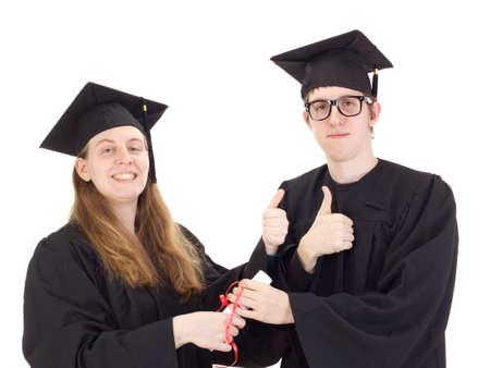 collegian: Graduates Stock Photo