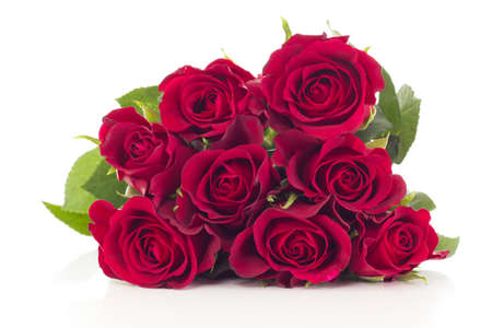 Bunch of roses photo