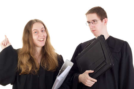Conducting a lawsuit Stock Photo - 17605251