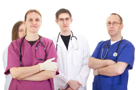 deputy: Medical people Stock Photo