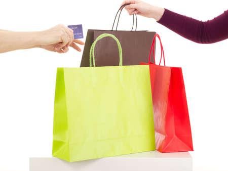 shopaholism: Shopping tour Stock Photo
