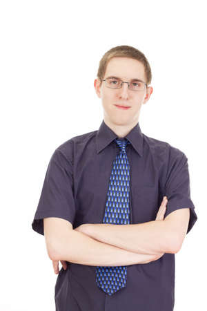 independent financial adviser: Young businessman