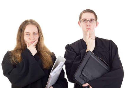 Conducting a lawsuit Stock Photo - 18204023