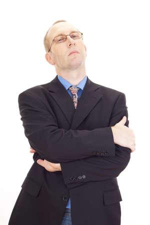 arrogancia: Hombre de negocios